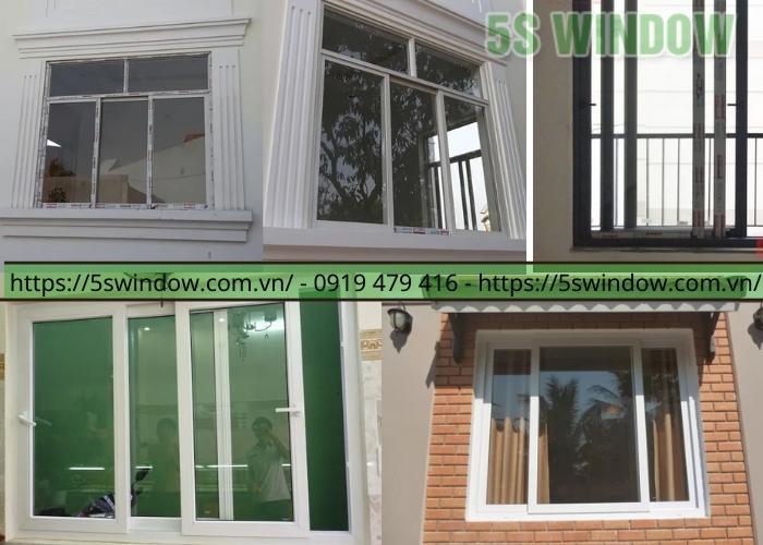 cửa sổ mở lùa 3 cánh nhôm xingfa